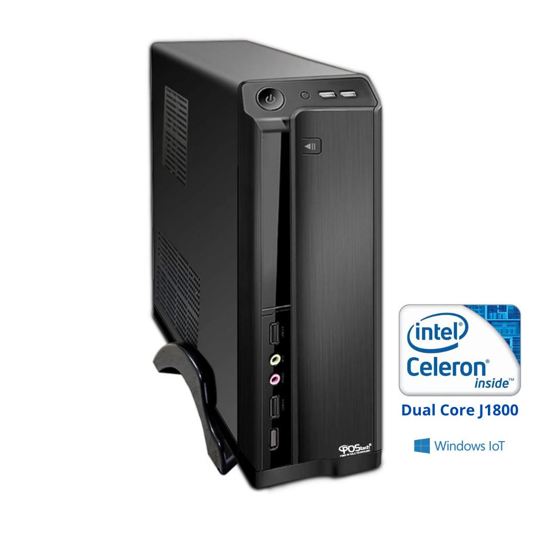 Celeron Dual Core J1800 2.41GHz / 2 seriais / 4GB / SSD120GB / WIN