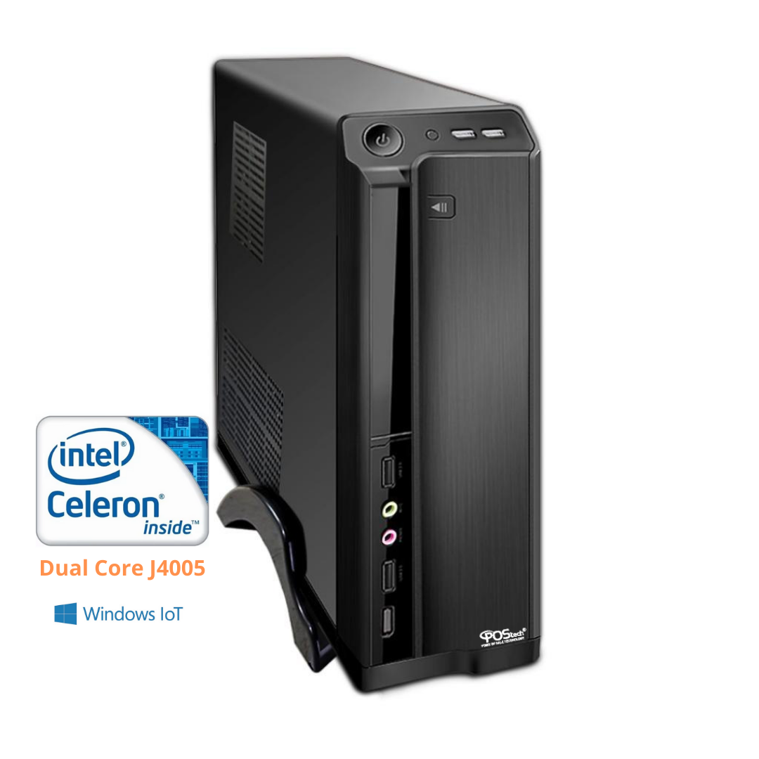 CELERON DUAL CORE J4005 2.7GHZ / 2 SERIAIS 4GB / SSD 240GB / WIN