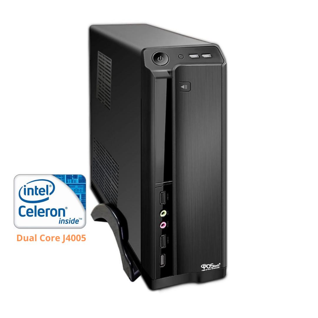 CELERON DUAL CORE J4005 2.7GHZ / 2 SERIAIS 4GB / SSD 240GB