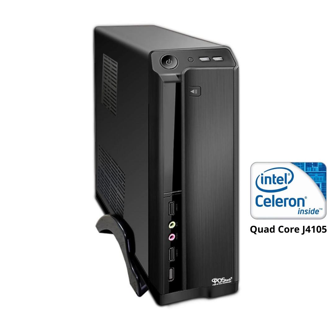 CELERON QUAD CORE J4105 2.5GHZ / 2 SERIAIS 4GB SSD 120GB